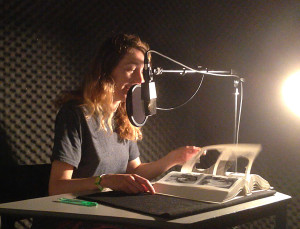 Eleanor in booth